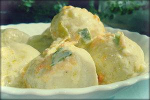 Рецепт картофельных кнедликов.