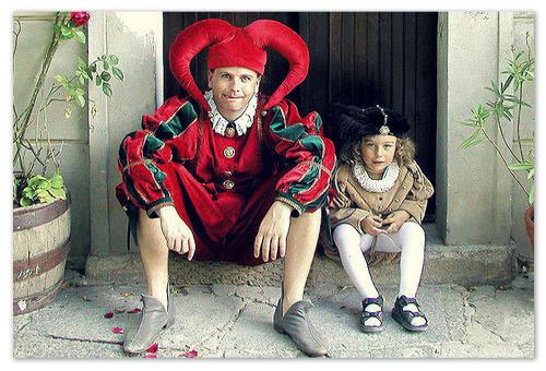 22 июня в Чешском Крумлове проходит праздник Пятилепестковой розы.