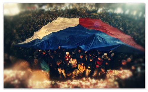 Значение флага Чехии.