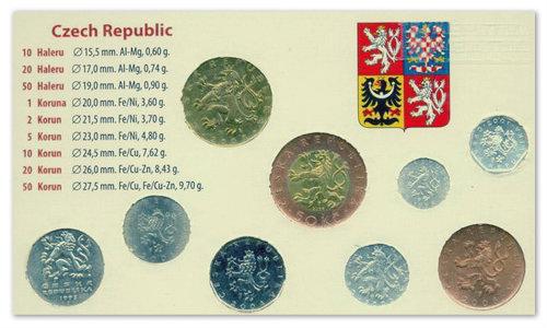 Монеты Чехии.