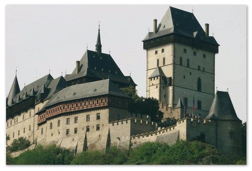 Замок Карлштейн в Чехии. Как добраться в Карлштейн из Праги