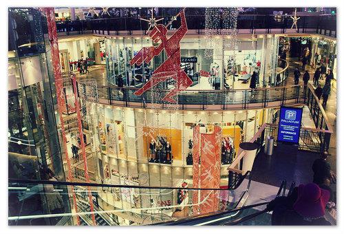 Торговый центр Палладиум в Праге — 200 магазинов