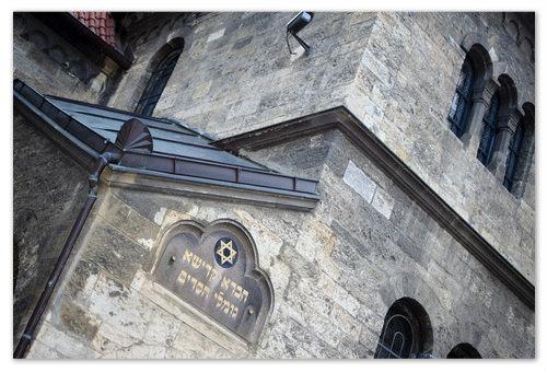Staronová synagoga в Старом городе.
