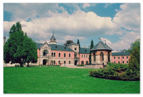 Замок Сихров в Чехии. Как добраться из Праги в Чешский рай?