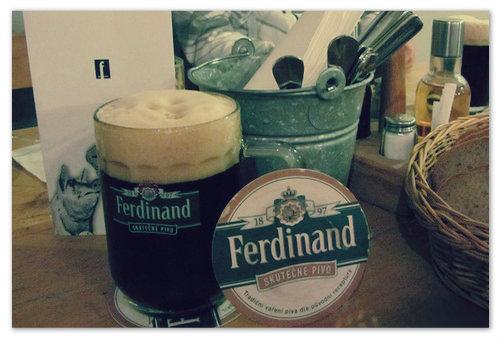 Пиво Ferdinand Sedm Kuli.
