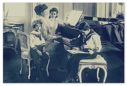 Жена и трое детей Франца Фердинанда.