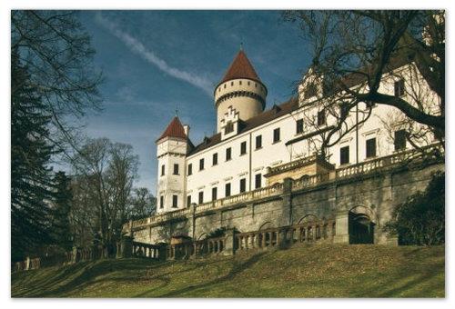 Замок Конопиште в Чехии: фото, отзывы туристов, как добраться из Праги.