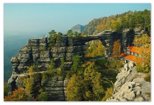 Чешская Швейцария — национальный парк на карте: как добраться самостоятельно, экскурсии, отзывы туристов.