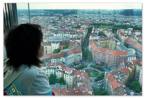 Лучший вид на Прагу. Почему лучший? Потому что не видно телебашни.