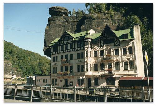 Labe — отель в Чешской Швейцарии.