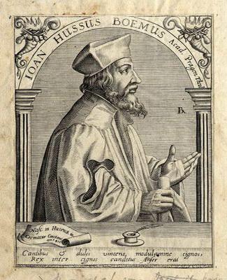 Ян Гус — великий чешский реформатор.