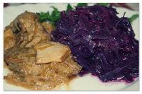 Чешский рецепт красной тушёной капусты.