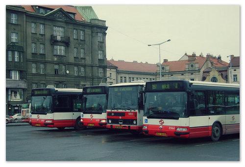 Автовокзал Na Knizeci.