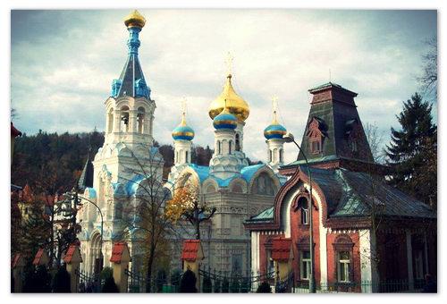 Церковь Петра и Павла в Карловых Варах.