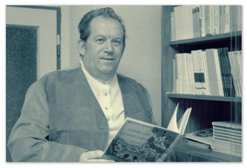 Писатель Václav Čtvrtek — создатель Кржмелика и Вахмурки.