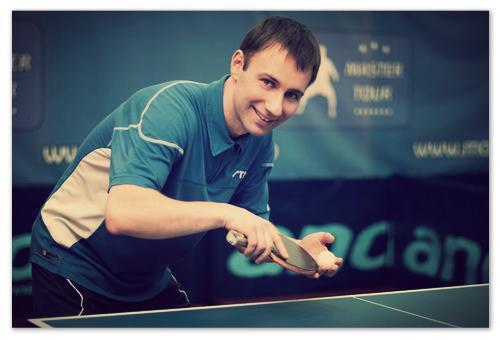 Алексей Млинарж — российский мастер настольного тенниса с говорящей чешской фамилией.