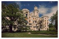 Замок Глубока-над-Влтавой — говорят, он самый красивый в Чехии