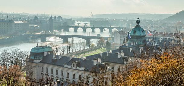 Мосты зимой.