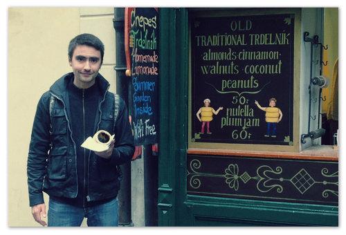 Где в Праге купить трдельник?