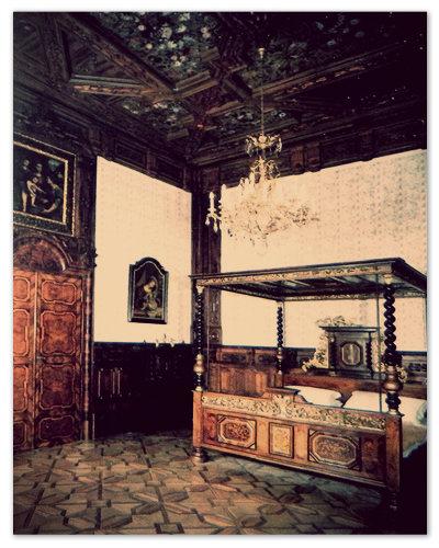 Эта комната с высокими резными потолками — и есть апартаменты княгини Элеоноры.