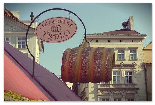 Staročeské trdlo — самое известное в Чехии специализированное заведение.