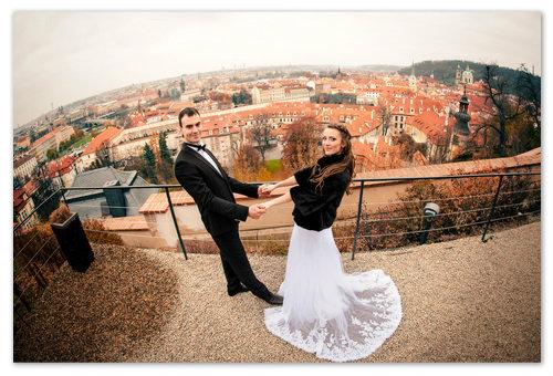 Свадьба в Праге в ноябре.
