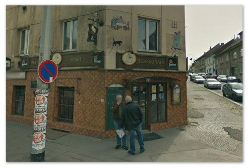 Пивная Start в Праге.