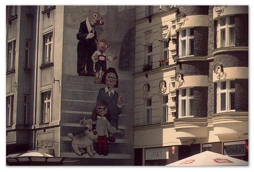 Театр Спейбла и Гурвинека — помните журнал Весёлые картинки?