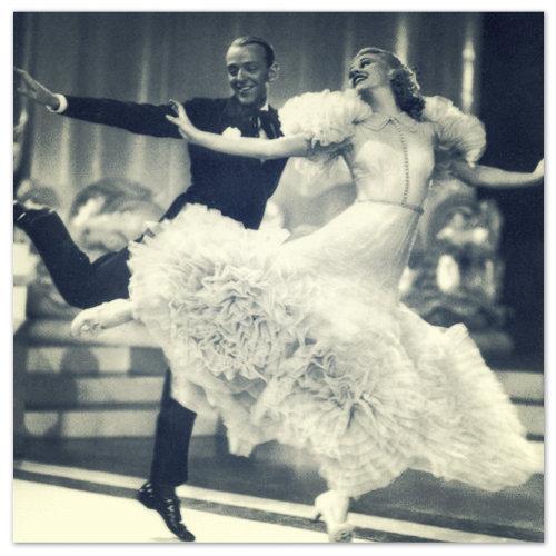 Американские актёры и танцоры Fred Astaire и Ginger Rogers — вдохновляли и продолжают вдохновлять.