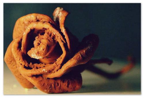 Уникальный подарок — каменная роза — готичненький, как и сама Чехия!