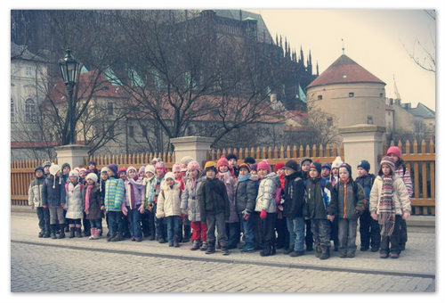 А вот мужественные чешские детсадовцы — они и не такое видали.
