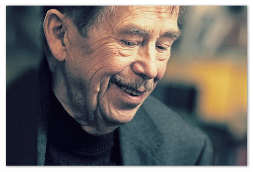 А придумал и затеял всё Václav Havel — первый президент Чехии.