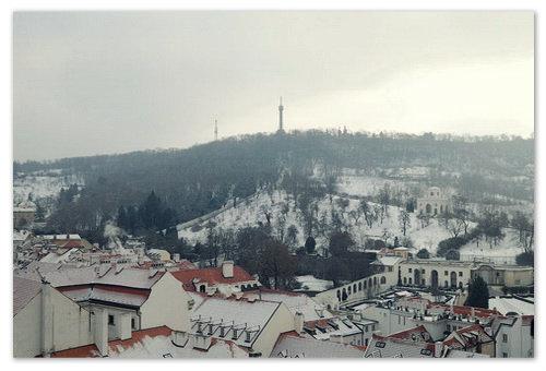 Петршин холм зимой.