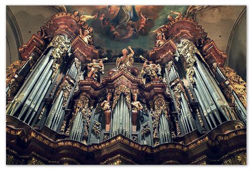 Орган в церкви Святого Якуба.