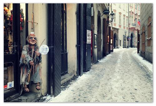Январский шоппинг в Праге.