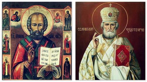 Николай Угодник и Николай Чудотворец.