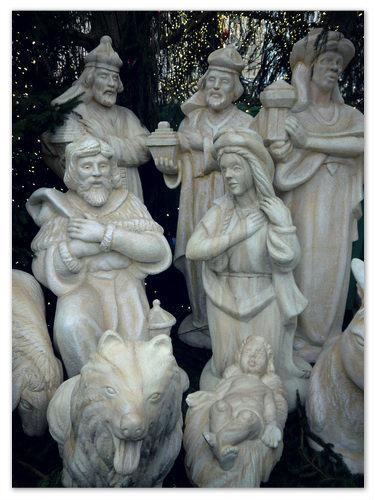 Иосиф, Иисус и Мария.