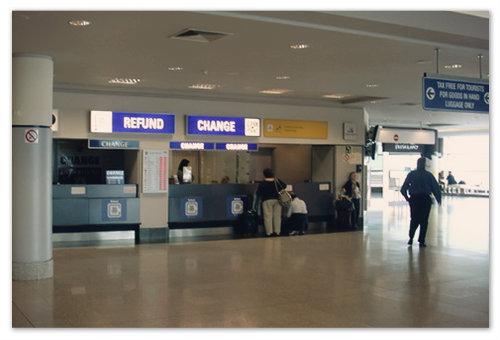 Tax Free в аэропорту Рузине в Праге.