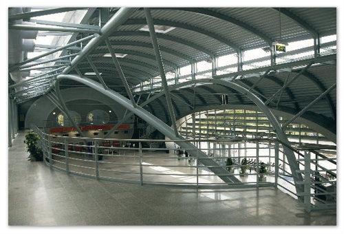 Карловарский аэропорт изнутри.