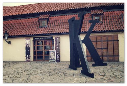 Музей Франца Кафки в Праге.