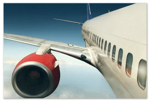 Турбина самолёта.