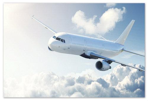 Гражданский самолёт.