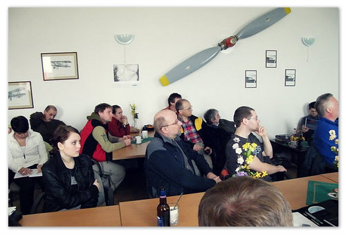 Занятия в чешской частной авиашколе.