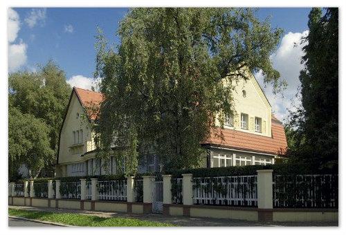 Роскошный особняк под Прагой.