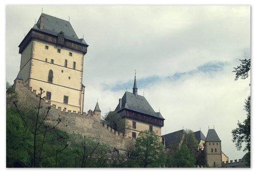 Как самостоятельно добраться до замка Карлштейн.