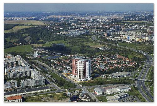 Резиденция Prague Towers включает 280 квартир класса deluxe.