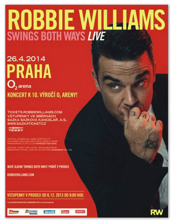 Robbie Williams: Swings Both Ways Live.