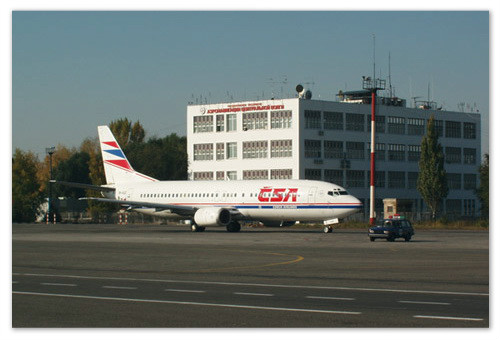 Авиакомпания совершает рейсы во многие российские города.