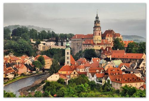 Как добраться в Чешский Крумлов из Праги на автомобиле.