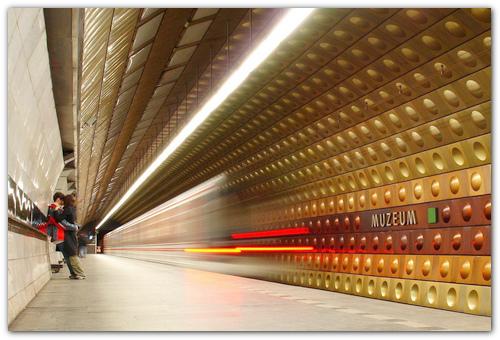 Cтанция метро Museum.